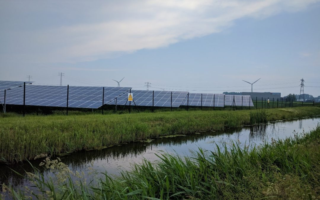 "Opening of the solar park ""De Kie"" Franeker in the Netherlands"