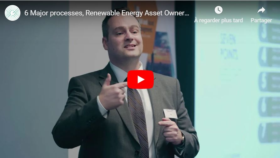 6 Major processes, Renewable Energy Asset Owners, must implement, to OPTIMISE their Energy Assets