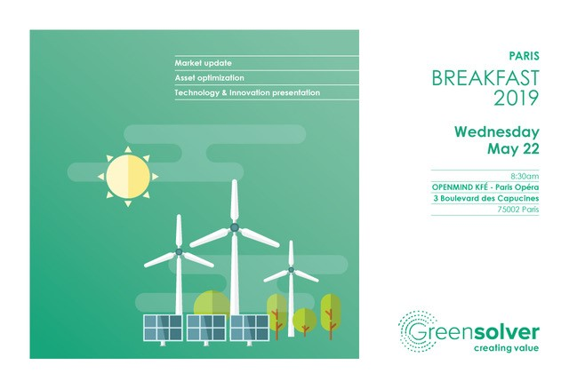 A REAL SUCCESS FOR THE BREAKFAST-CONFERENCE OF GREENSOLVER
